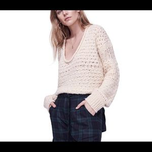 Free People || Cozy Scoop Sweater
